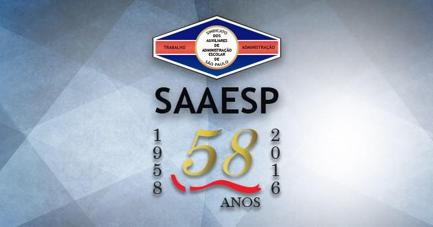 Comemoração: SAAESP foi fundado há 58 anos