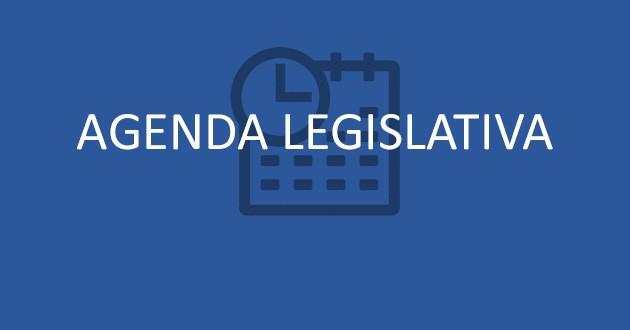 Agenda Legislativa – de 07 a 11 agosto de 2017