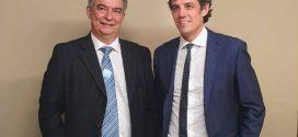Líder do Cidadania recebe presidente da CNTEEC