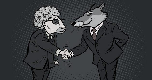 O lobo e o cordeiro