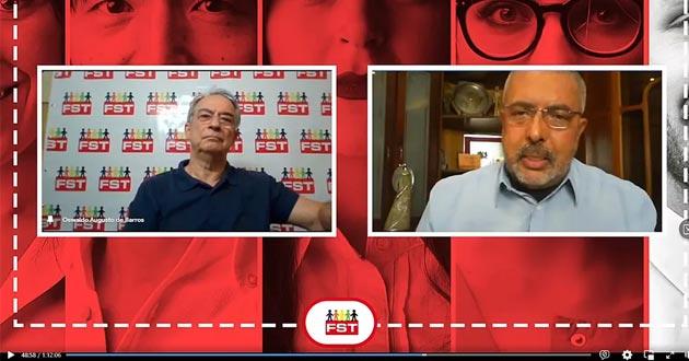Em live do FST, Paim defende sindicalismo forte